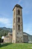 Церковь d'Engolasters Sant Мигеля Стоковое Изображение RF
