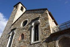Церковь dei Battuti Santa Maria, Беллуно Италии стоковое изображение rf