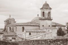 Церковь des Pommiers Нотр-Дам, Beaucaire, Провансаль, Франция стоковая фотография