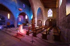 Церковь des Sablons Нотр-Дам - Aigues Mortes - Camargue - Франция стоковое фото