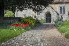 Церковь Detling, Кент, Великобритания Стоковые Фотографии RF