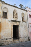 Церковь di Бари St. Nicola. Galatone. Апулия. Италия. Стоковое Изображение