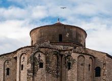 Церковь Donat Святого в Zadar Хорватии Стоковые Изображения