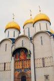 Церковь Dormition Москвы Кремля Фото цвета Стоковая Фотография RF