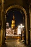 церковь dresden стоковая фотография
