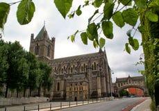 церковь dublin christ собора стоковые фотографии rf