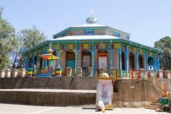 Церковь Entoto Myriam Стоковое фото RF