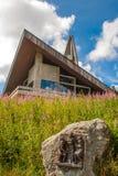Церковь Feldberg в черном лесе. Стоковое Изображение RF