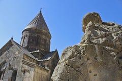 Церковь Geghard стоковая фотография