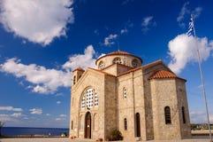 церковь georgios ажио Стоковые Изображения
