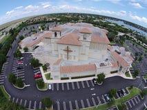 Церковь Glades в Coral Springs Флориде Стоковое фото RF