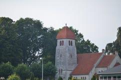 Церковь Højerup новая Стоковая Фотография RF