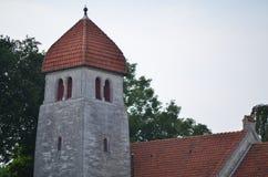 Церковь Højerup новая Стоковое Фото