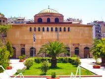 Церковь Hagia Sophia в городе Thessaloniki, Греции включена как место всемирного наследия на списке ЮНЕСКО Стоковое Изображение RF