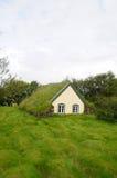 Церковь Hofskirkja красивая церковь дерновины в юговосточном Icela стоковые фото