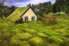 Церковь Hofskirkja Стоковая Фотография