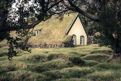 Церковь Hofskirkja Стоковые Фотографии RF