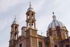 Церковь i Angelitos, tulancingo стоковое изображение