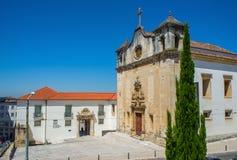 Церковь Igreja de Sao Joao de Almedina в Коимбре Португалия Стоковые Изображения