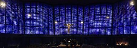Церковь Kaiser Wilhem мемориальная - новая церковь, ступица Стоковая Фотография