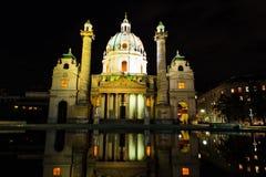 Церковь Karlskirche Стоковые Фотографии RF