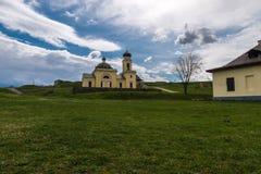 Церковь Khotyn на холме Стоковые Фото