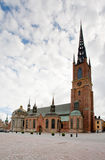церковь knights stockholm Швеция Стоковое Фото