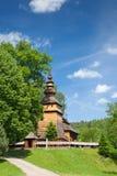 церковь kotan правоверная Польша деревянная Стоковые Изображения