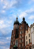 церковь krakow стоковая фотография rf