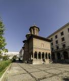 Церковь Kretzulescu старая в Бухаресте - Румынии Стоковое Изображение