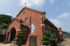 Церковь Kurosaki, Нагасаки Япония Стоковые Фото