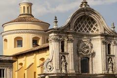 Церковь L'Aquila стоковые фото