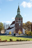 церковь latvia valmiera Стоковое Изображение