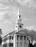 Церковь Litchfield стоковые изображения