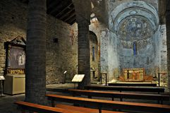 Церковь ll ¼ Sant Climent de Taà Стоковое Фото