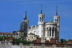 церковь lyon Стоковое Изображение RF
