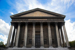 Церковь Madeleine Ла, Париж, франция. Стоковое Изображение