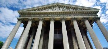 церковь madeleine стоковое фото rf