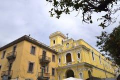 Церковь Madonna del Кармина в Сорренто Италии стоковая фотография rf