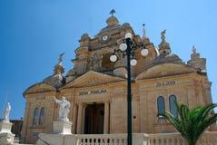 церковь malta Стоковые Изображения RF