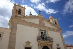 церковь maria santa Лагос Португалия Стоковое Изображение