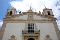 церковь maria santa Лагос Португалия Стоковые Изображения RF