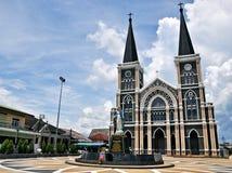 Церковь Mary матери, Chanthaburi Таиланд Стоковые Фотографии RF