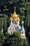 Церковь Mary Magdalene в Иерусалиме, Израиле. Стоковые Фотографии RF
