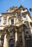 Церковь Mary Magdalene в Риме Италии Стоковая Фотография RF