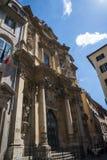 Церковь Mary Magdalene в Риме Италии Стоковые Изображения