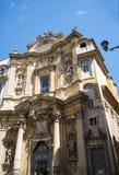 Церковь Mary Magdalene в Риме Италии Стоковые Фото