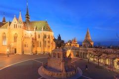 Церковь Mathias, бастион рыболова, Будапешт стоковые фото