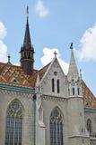 Церковь Matthias, Будапешт стоковая фотография rf