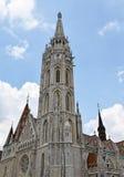 Церковь Matthias, Будапешт стоковая фотография